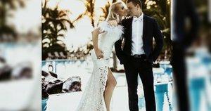 Jurga iki šiol neslepia laimės dėl savo vestuvių dienos (Nuotr. Ana Rosso)