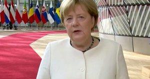 A. Merkel (nuotr. stop kadras)