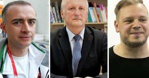 D. Barkauskas, A. Skurvydas, A. Šabajevas (tv3.lt fotomontažas)