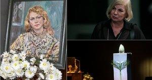 Kaune atsisveikinama su legendine aktore G. Balandyte  (nuotr. Fotodiena.lt/Pauliaus Peleckio)