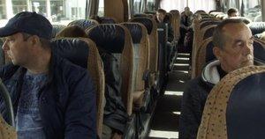Tarpmiestinio autobuso keleiviams – baudos dėl diržų