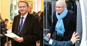 Rolandas Paksas ir Neringa Venckienė (tv3.lt fotomontažas)