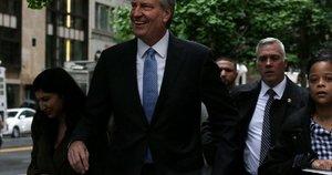 Niujorko meras Billas de Blasio (nuotr. SCANPIX)