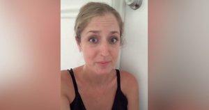 Šis vaizdo įrašas, kuriame įamžinta mamos reakcija į paauglės dukros neplanuotą nėštumą, internete tapo tikra sensacija  (nuotr. stop kadras)