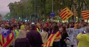 Chaosas Ispanijoje (nuotr. stop kadras)
