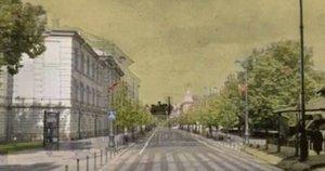 Kaip keitėsi Vilniaus senamiestis? (Kadras iš Valstybinės kultūros paveldo komisijos vaizdo įrašo)