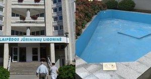 Klaipėdos jūrininkų ligoninės baseinas (nuotr. tv3.lt)