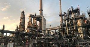 Naftos gamykla Prancūzijoje (nuotr. skaitytojo)