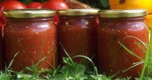Pomidorų padažas žiemai (Nuotr. Skanus gyvenimas)