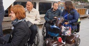 Jei bus priimtas J. Džiugelio pateiktas siūlymas, daugiau neįgaliųjų į Kuršių neriją kelsis nemokamai. (Aurelijos Babinskienės nuotr.)