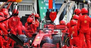 """""""Ferrari"""" dėl titulų kovoti tikisi 2022 m. (nuotr. SCANPIX)"""