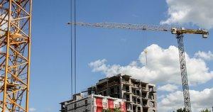 Statybos, būstas. Fotodiena/Robertas Raudonikis