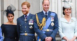 Meghan Markle, princas Harry, princas Williamas ir Kate Middleton (nuotr. SCANPIX)