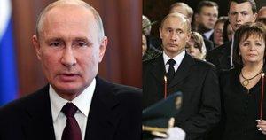 Vladimiras Putinas ir buvusi jo žmona Liudmila (nuotr. SCANPIX)