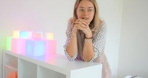 Sutrikusios raidos vaikų konsultavimo skyriaus vedėja Gintarė Šatė. Aurelijos Babinskienės nuotr.