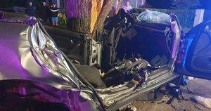 Tragiška avarija Kėdainių rajone: žuvo du jauni vyrai, kaltininkas – galimai girtas (nuotr. Kėdainių r. sav. mero V. Tamulio) (nuotr. facebook.com)