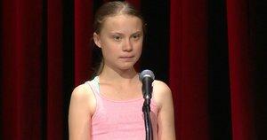 Greta Thunberg (nuotr. stop kadras)