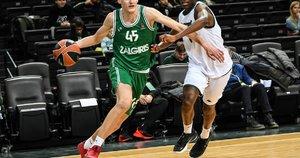 Žalgiriečiai šventė pergalę (nuotr. Euroleague Basketball)