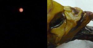Užfiksavo NSO: keistas objektas įvarė baimę (nuotr. YouTube)