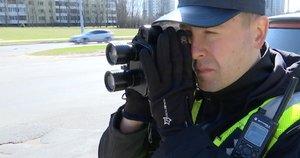 Reidas Vilniuje (nuotr. stop kadras)