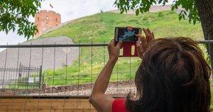 Gedimino kalnas Vilniuje (nuotr. Fotodiena/Justino Auškelio)