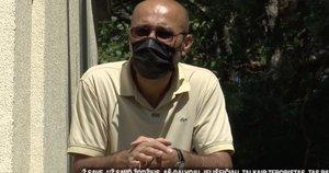 Apie sąlygas prabilo izoliuoti uzbekai: jei išeičiau, tai būčiau kaip teroristas (nuotr. stop kadras)