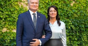 Gitanas Nausėda ir Diana Nausėdienė  (Irmantas Gelūnas/Fotobankas)