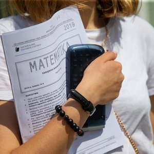 Skelbia brandos egzaminų rezultatus: matematikoje suspindėjo ne visi