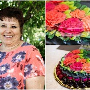 Jolantos kuriami tortai palieka be žado: primena tikrus meno kūrinius