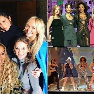 """Merginos, pakeitusios pasaulį: pamatykite, kaip laikui bėgant keitėsi legendinės grupės  """"Spice girls"""" narės"""