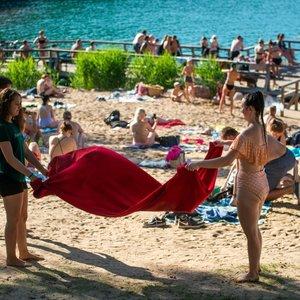 Vasariškas sekmadienis: termometrų stulpeliai šoktels beveik iki 30 laipsnių