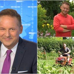 Garsusis TV3 žinių vedėjas atskleidė nematytą savo pusę: apie jo hobį sklando gandai