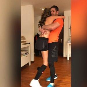 """""""Mis Kolumbijos"""" šokis įkvėpė tūkstančius: kojos amputacija gyvenimo nepakeitė"""
