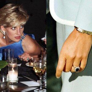 Šį princesės Dianos žiedą karališkoji šeima vertino prieštaringai: paaiškino kodėl