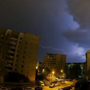 Orai malonūs nebus – pils stiprus lietus, dangų raižys žaibai