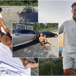 Įspūdingas Ronaldo pirkinys: pagaminta vos 10 tokių automobilių