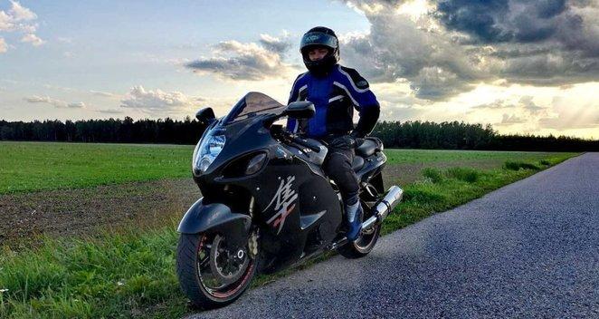 Motociklininkas Mantas