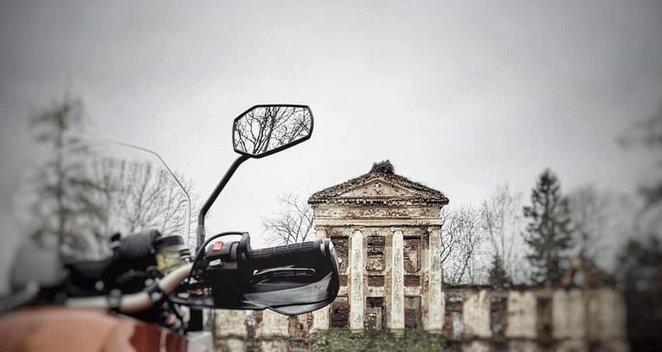Europą motociklu išmaišęs Butkutes vyras: papasakojo apie daugiausiai streso kainavusią kelionę