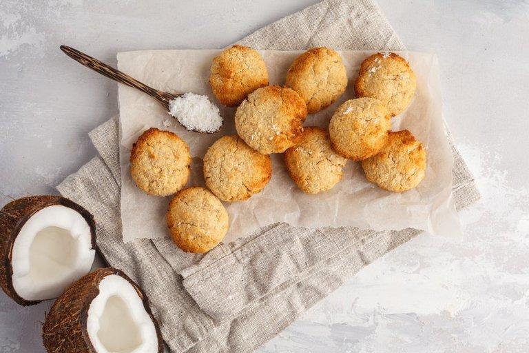 Kokosiniai sausainiai (nuotr. Shutterstock.com)