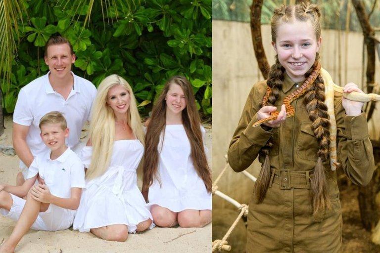 Inga Stumbrienė su šeima (tv3.lt fotomontažas)