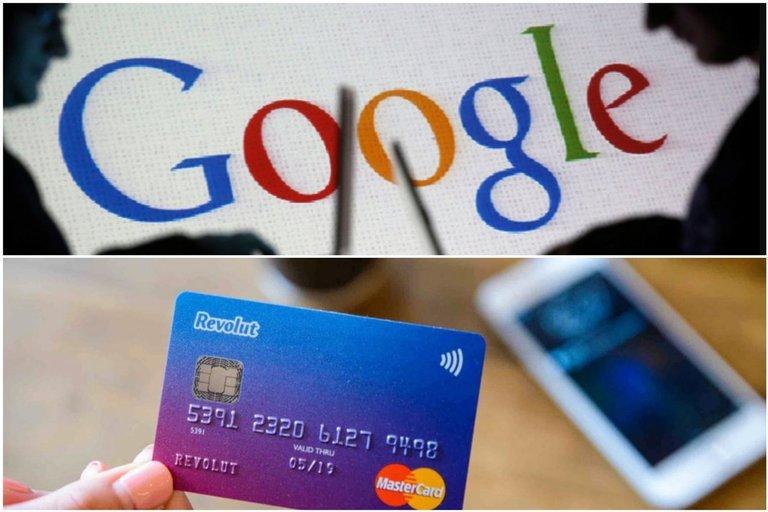 """Google"" ir ""Revolut"" Lietuvoje steigia mokėjimo bendroves (tv3.lt fotomontažas)"
