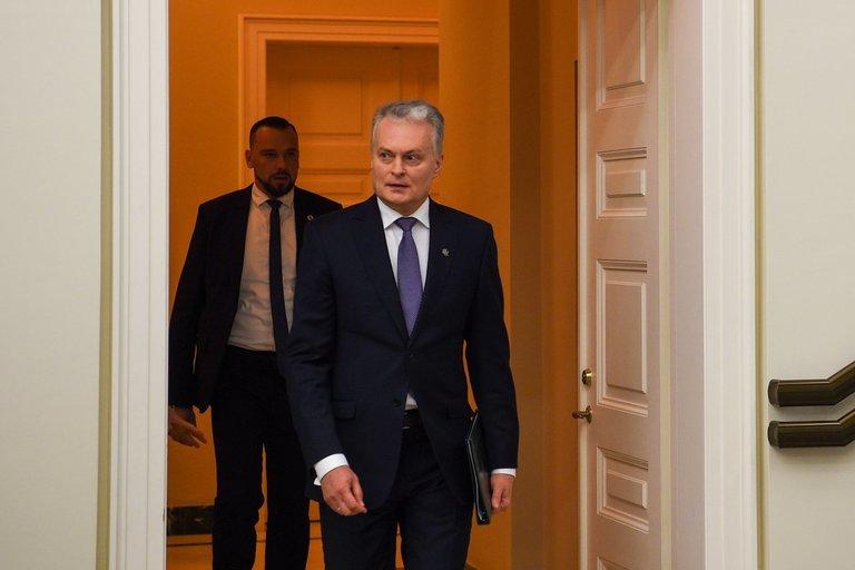 Prezidentas Gitanas Nausėda (nuotr. Fotodiena/Matas Baranauskas)