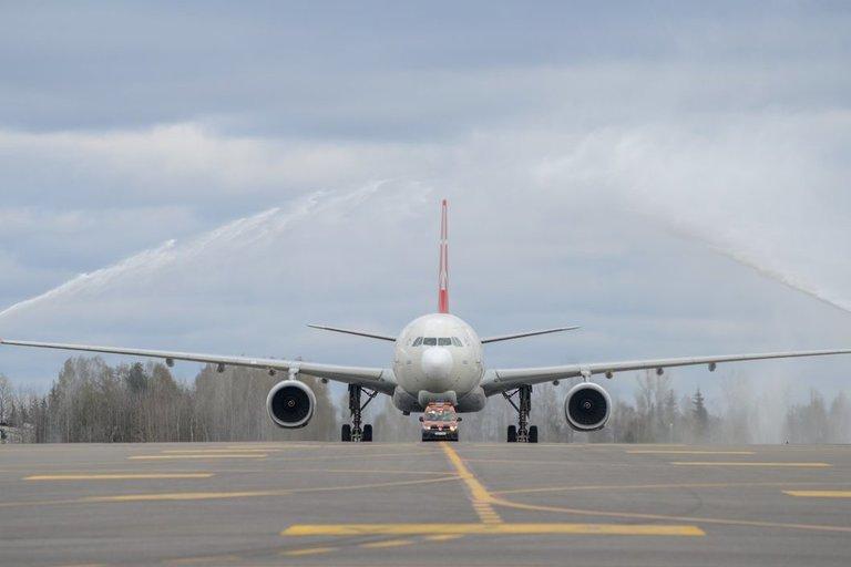 Lėktuvas, Vilniaus oro uostas (nuotr. fotodiena/Justino Auškelio)