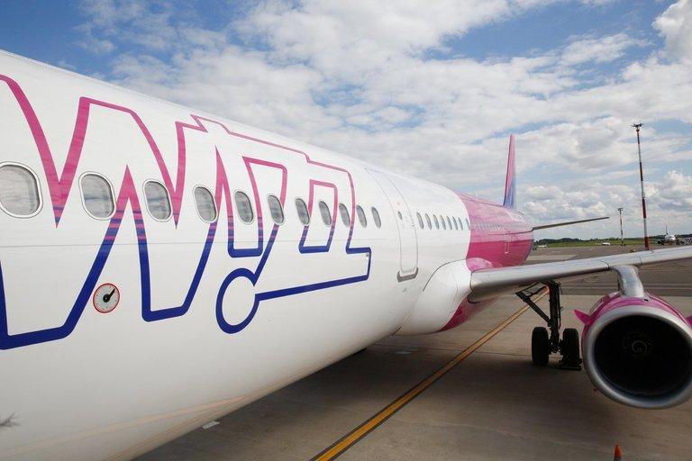 WizzAir (nuotr. bendrovės)