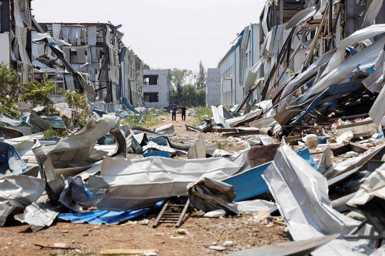 Tornado sugriauti namai (asociatyvi nuotr. SCANPIX)