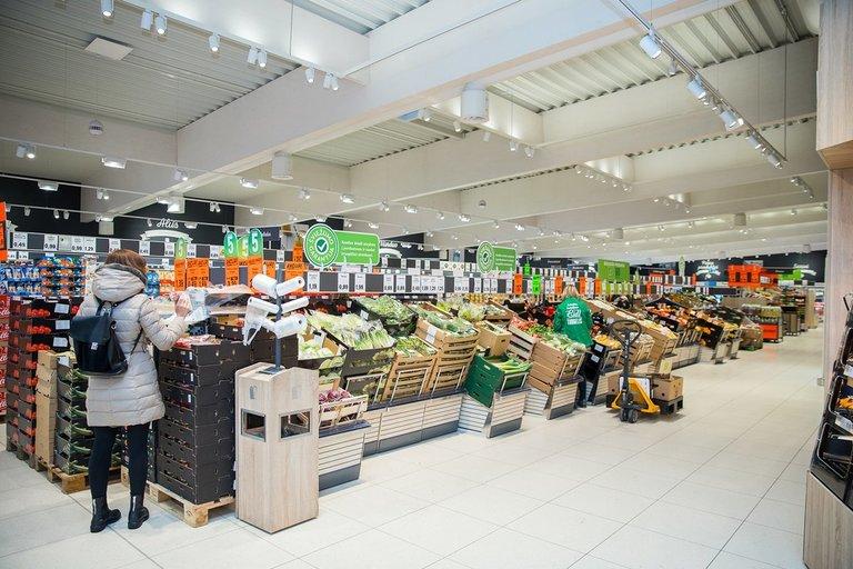 Lidl'o daržovių turgelis (nuotr. bendrovės)