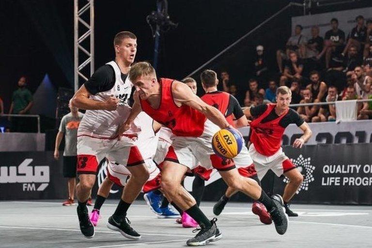 3x3 krepšinis (nuotr. FIBA)