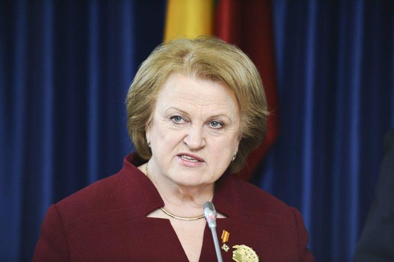 Politikė Kazimira Prunskienė prieš beveik aštuonerius metus patyrė insultą (nuotr. Fotodiena.lt)