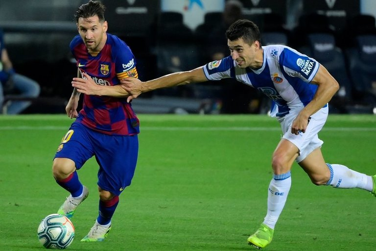 """Barcelona"" šventė pergalę (nuotr. SCANPIX)"