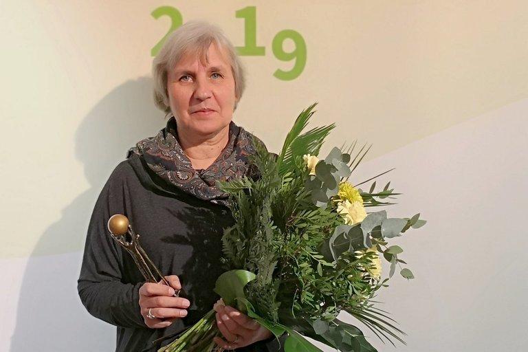 """Liljanos istorija pateko tarp 10-ies geriausių Europos Sąjungos įgyvendinamų projektų istorijų ir buvo apdovanota statulėle """"Žingsniai 2019"""". Bendrijos PAGAVA archyvo nuotr."""